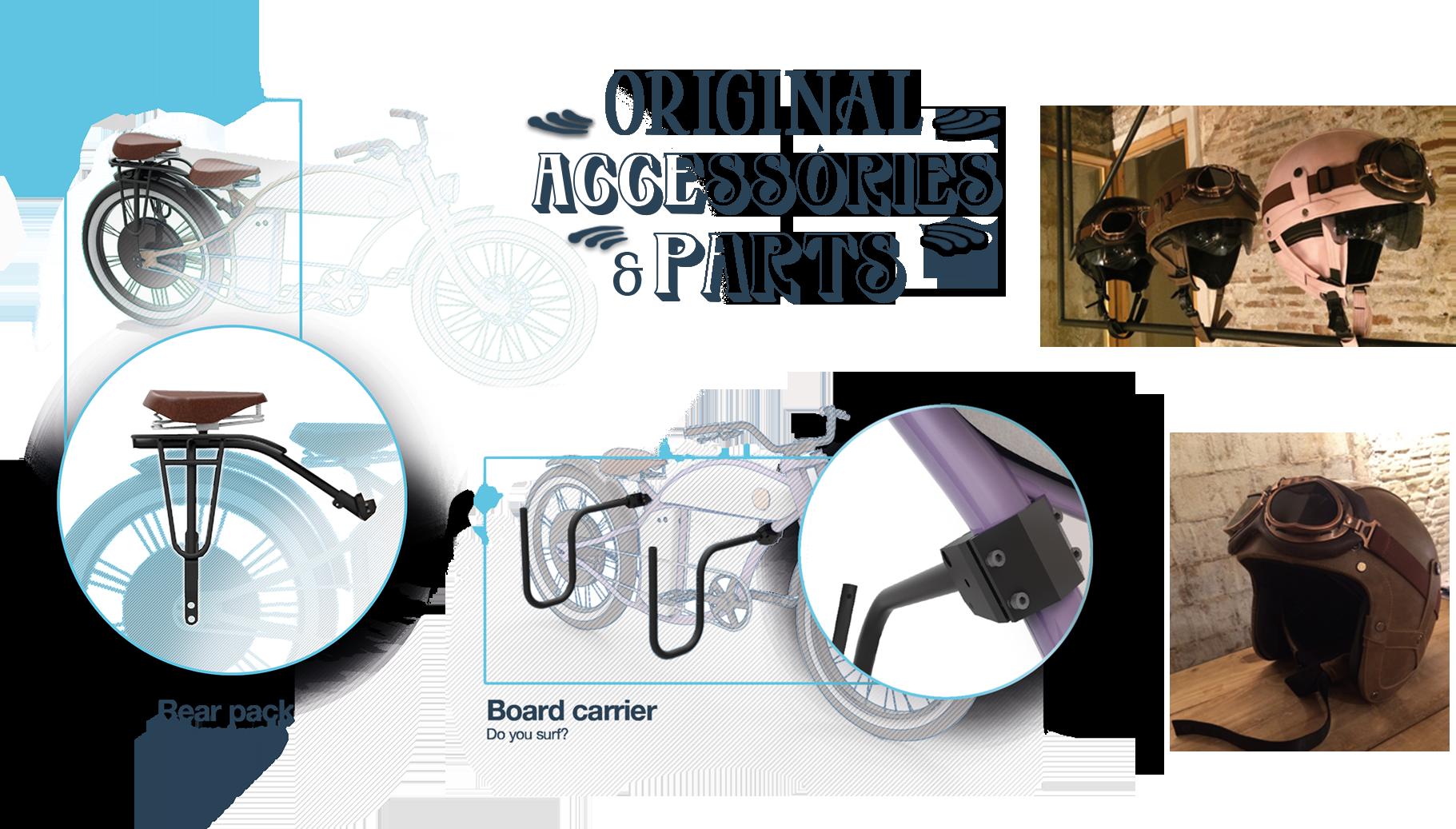 Original Accessories Parts